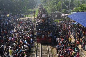 Overcrowded Trains in India (25 photos) 27
