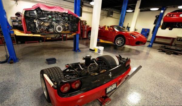 3 Ferrari F50 Clutch Replacement (6 photos)