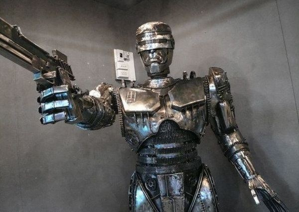 Steampunk Robocop (5 photos) 4