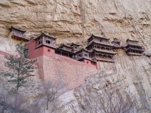 Hanging Temple in China (13 photos) 4