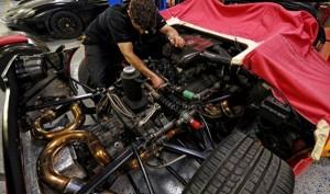 Ferrari F50 Clutch Replacement (6 photos) 6
