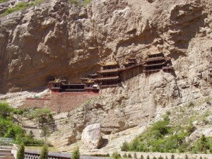 Hanging Temple in China (13 photos) 6