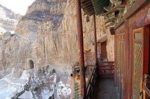 Hanging Temple in China (13 photos) 7