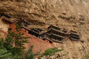 Hanging Temple in China (13 photos) 8
