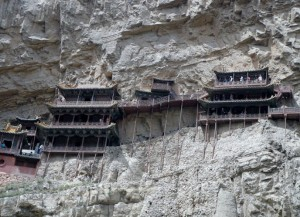 Hanging Temple in China (13 photos) 9