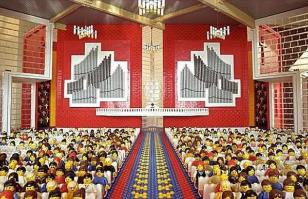 1025 Amazing Lego Creations (42 photos)