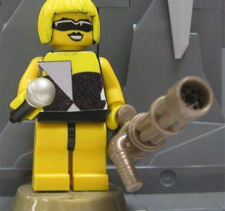 Lady Gaga Made Of Lego (12 photos)