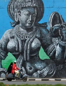 Amazing Street Art in India (28 photos) 12