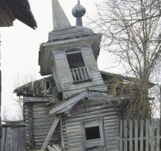 Abandoned Wooden Churches in Russia (28 photos)