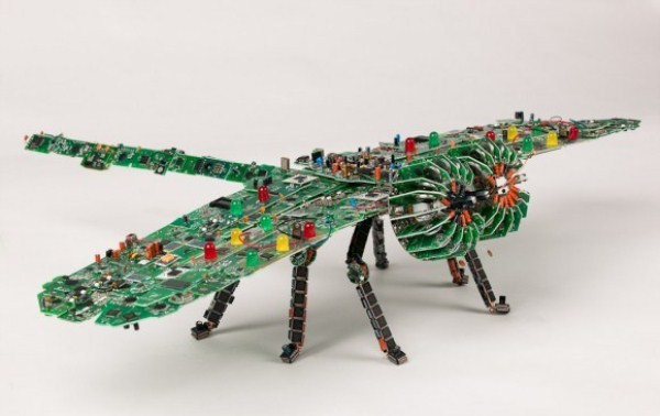Computer Parts Sculptures (35 photos) 22