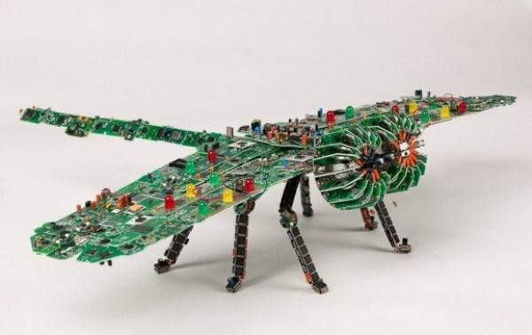 Computer Parts Sculptures (35 photos) 22