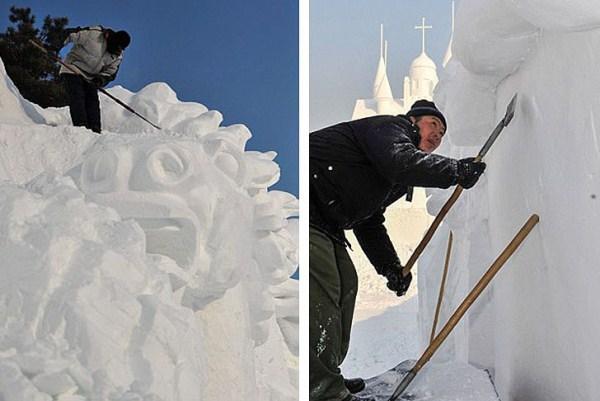 642 Incredible Sculptures Made Out Of Snow (8 photos)