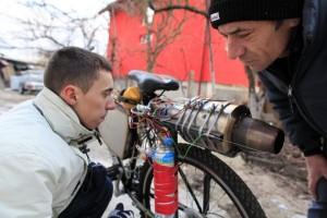 A Jet Engine Bicycle (15 photos) 10