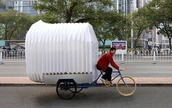 1152 Tiny Bicycle House (9 photos)