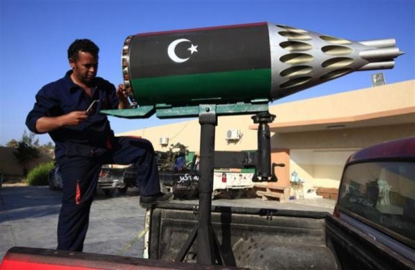 Syrian Rebels Using Homemade Arms (25 photos) 16