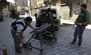 Syrian Rebels Using Homemade Arms (25 photos) 18