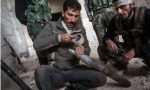 Syrian Rebels Using Homemade Arms (25 photos) 20