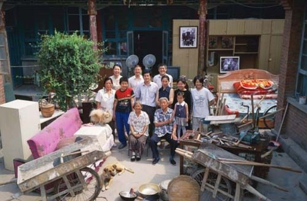 3311 Portraits of Rural Chinese Families (36 photos)