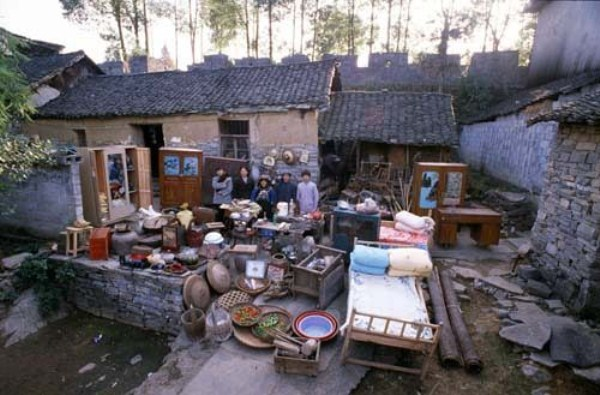 356 Portraits of Rural Chinese Families (36 photos)
