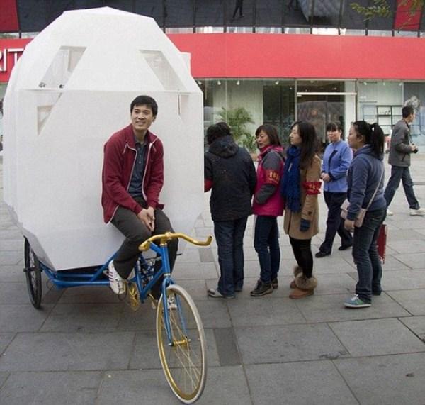 369 Tiny Bicycle House (9 photos)