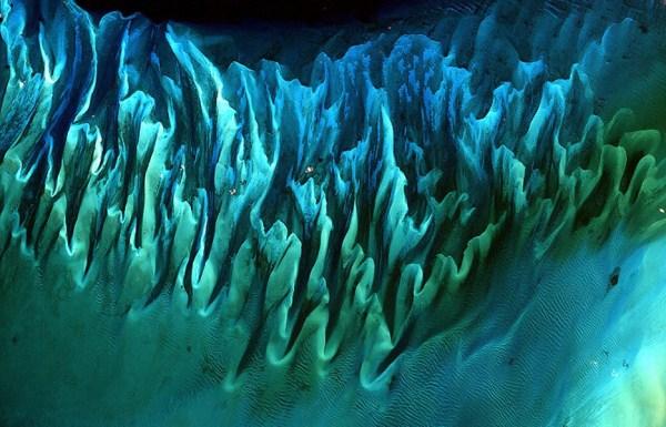 419 Waters Από το Διάστημα (25 φωτογραφίες)
