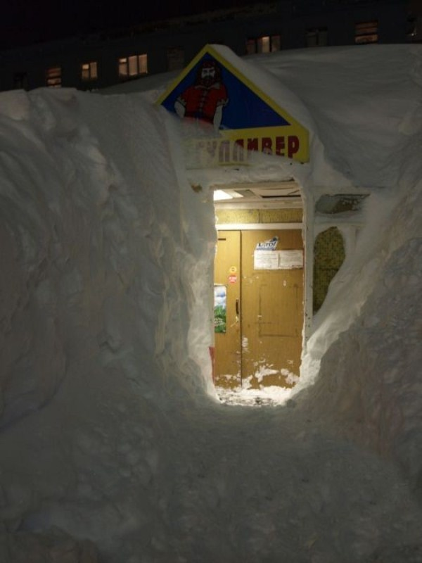The Harsh Winter in Russia (18 photos) 4