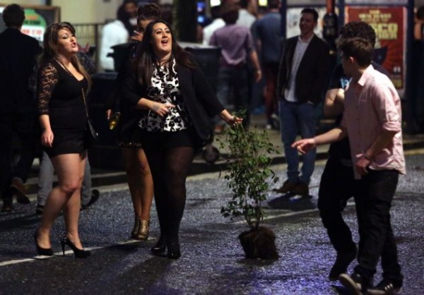 5 New Years Chaos in England (24 photos)