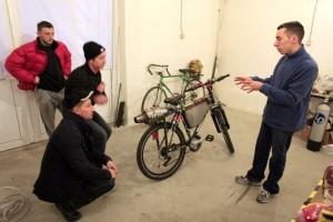 A Jet Engine Bicycle (15 photos) 5