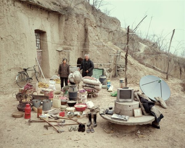 632 Portraits of Rural Chinese Families (36 photos)