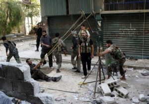 Syrian Rebels Using Homemade Arms (25 photos) 7