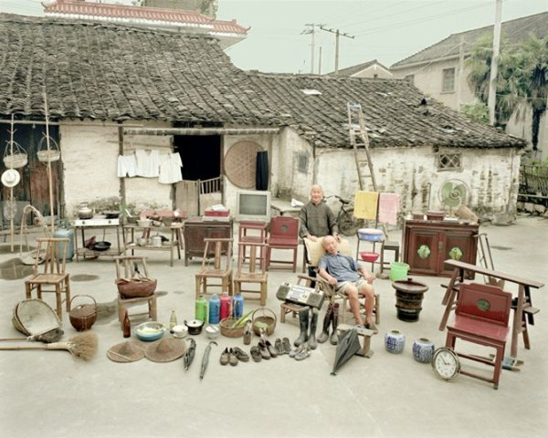 928 Portraits of Rural Chinese Families (36 photos)