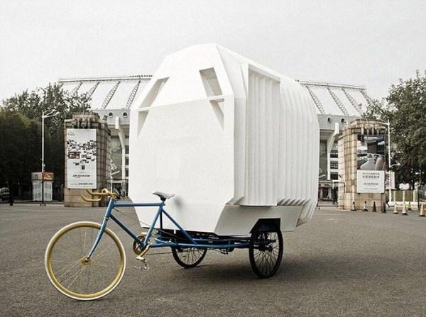 935 Tiny Bicycle House (9 photos)