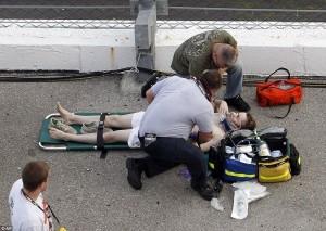 Accident in NASCAR Daytona 500 (17 photos) 10