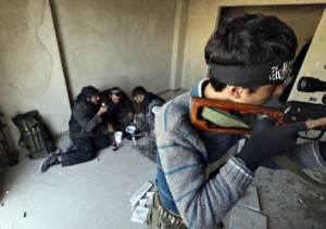 Off-Duty Rebels in Syria (30 photos) 10