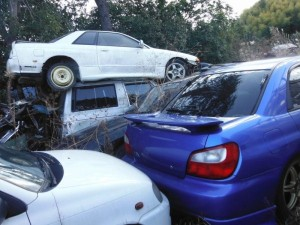 Car Cemetery in Japan (38 photos) 1
