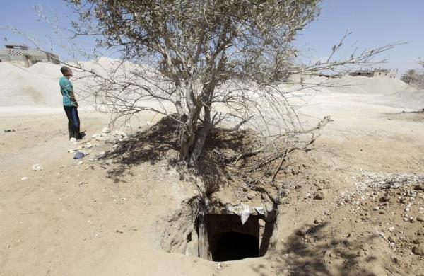 1225 Οι σήραγγες της Γάζας (20 φωτογραφίες)