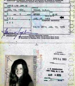 Passports of Fаmоus Реоple (17 photos) 13