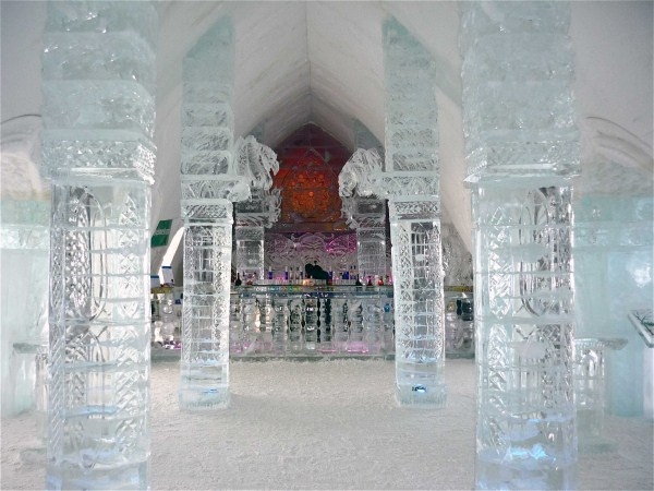 Kanada Ledový Hotel