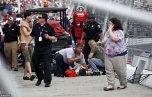 Accident in NASCAR Daytona 500 (17 photos) 15