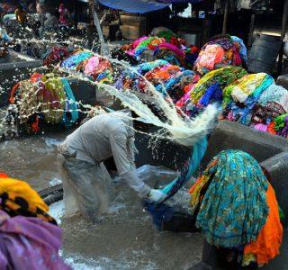 Public Laundry System in India (16 photos)