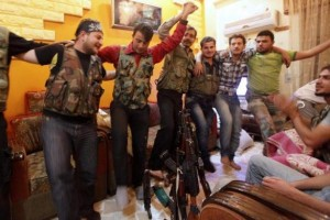 Off-Duty Rebels in Syria (30 photos) 17