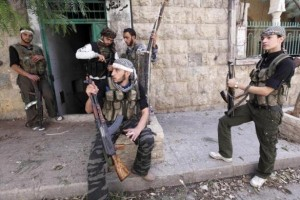 Off-Duty Rebels in Syria (30 photos) 20