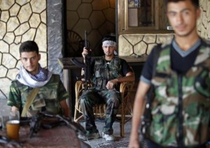 Off-Duty Rebels in Syria (30 photos) 23
