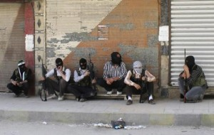 Off-Duty Rebels in Syria (30 photos) 25