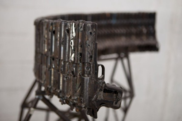 Drug War Guns Turned into Musical Instruments (15 photos) 2