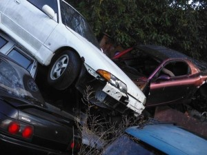 Car Cemetery in Japan (38 photos) 2
