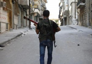 Off-Duty Rebels in Syria (30 photos) 30