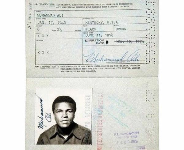 335 Passports of Fаmоus Реоple (17 photos)