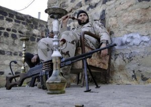 Off-Duty Rebels in Syria (30 photos) 5