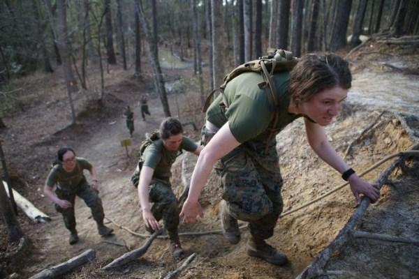 664 πεζοναύτες των ΗΠΑ Γυναίκα (30 φωτογραφίες)